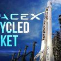Space X က ပထမဆံုး သံုးၿပီးသား ဒံုးပ်ံကို ျပန္လည္ လႊတ္တင္မႈေအာင္ျမင္