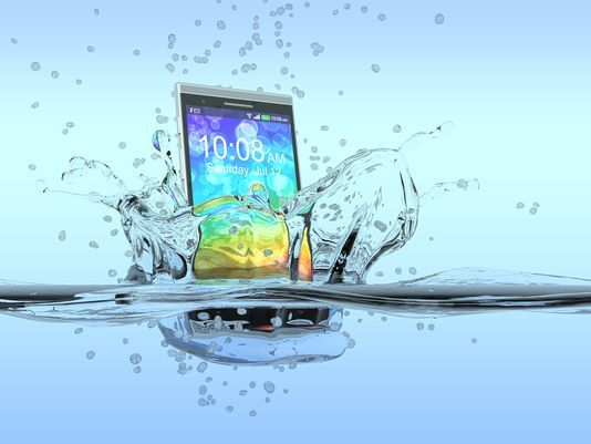 Cellphone in Water