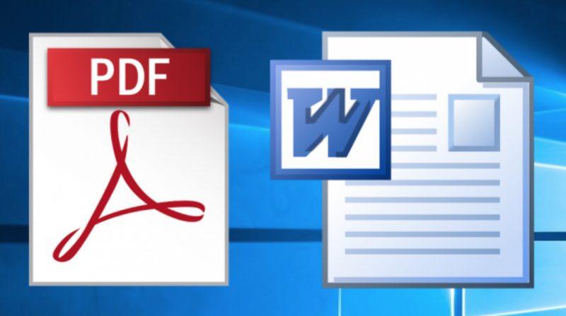 PDFs ဖိုင္ကေန Word Documents ကို ဘယ္လိုေျပာင္းမလဲ