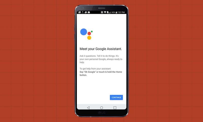 LG G6 မွာ Google Assistant ကို ဘယ္လို စတင္အသံုးျပဳမလဲ