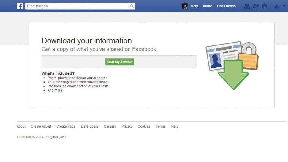 Facebook အခ်က္အလက္ေတြကို ဘယ္လို သိမ္းဆည္းမလဲ