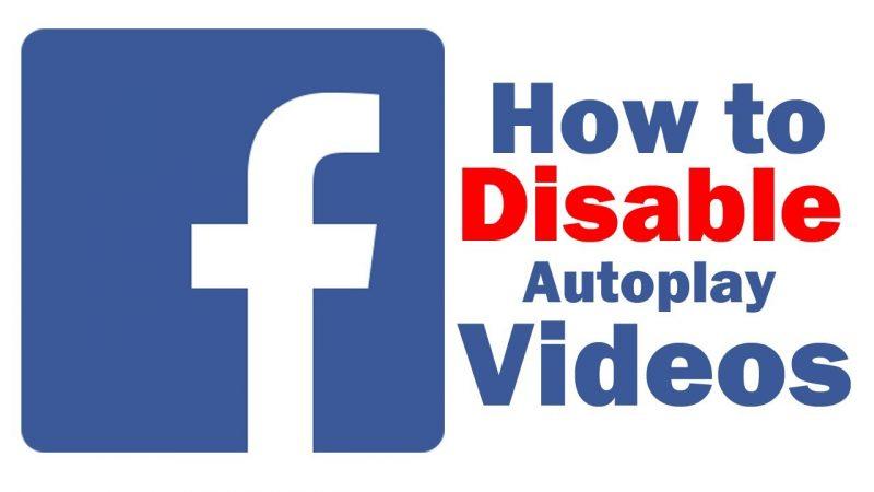 Facebook မွာ အလိုအေလ်ာက္ပြင့္ေနတဲ့ ဗီဒီယိုဖိုင္ေတြကို ဘယ္လိုပိတ္ထားမလဲ။