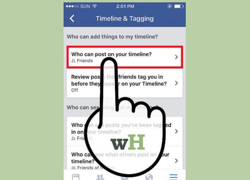 Facebook Timeline ေပၚကို ရွက္စရာေကာင္းတဲ့ Post ေတြ မ ေရာက္ေအာင္ ဘယ္လိုလုပ္မလဲ။