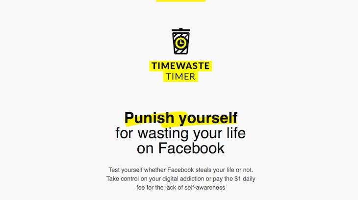Facebookသံုးရင္း အလြန္အကြ်ံအခ်ိန္ျဖဳန္းေနပါက ပိုက္ဆံေကာက္မယ့္ Timewaste Timer