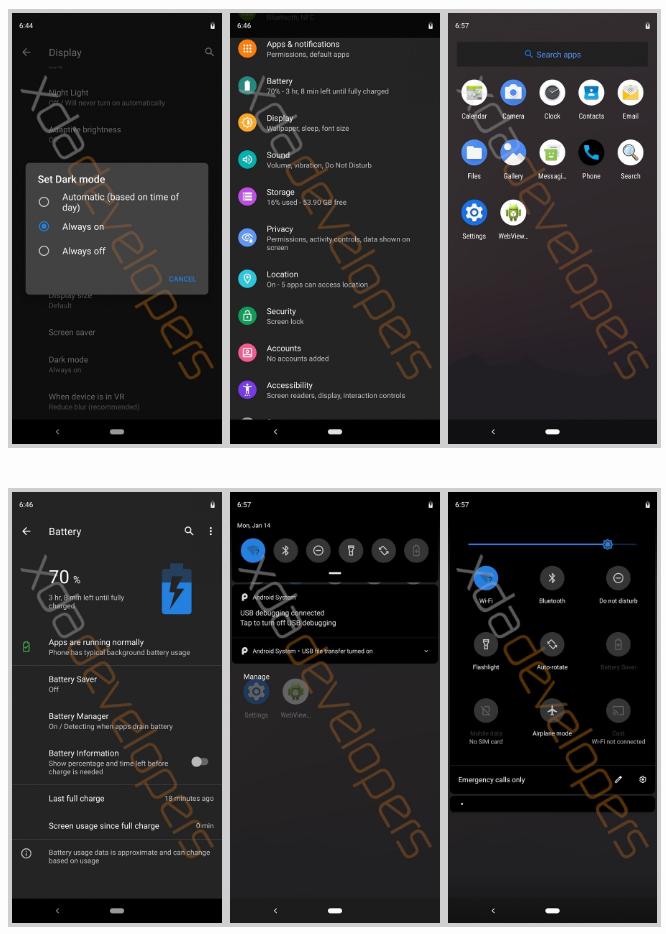System-wide Dark Theme နဲ့ Desktop Mode တွေ ပါလာ