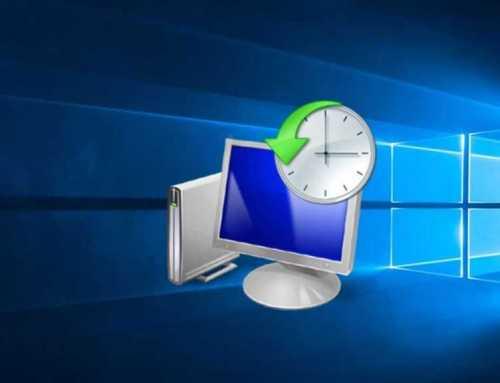 Windows 10 မွာ Restore Point ဘယ္လိုသုံးမလဲ