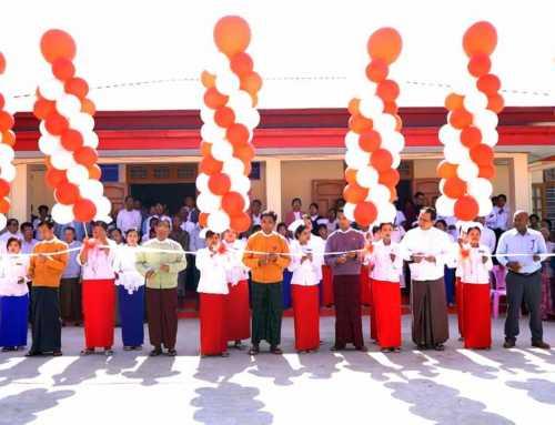 အူရီဒူးမြန်မာမှ မန္တလေးတိုင်းဒေသကြီးအတွင်း ဆောက်လုပ်ပြီးစီးသွားသည့် ကျေးလက်ကျန်းမာရေးဌာန ၂ခုအား လွှဲပြောင်းပေးအပ်ပွဲ အခမ်းအနားသို့ မန္တလေးတိုင်းဒေသကြီး လူဝန်မှုကြီးကြပ်ရေး နှင့် လူ့စွမ်းအားအရင်း အမြစ်ဝန်ကြီးဌာန ဝန်ကြီး ဦးအောင်ကြည် တက်ရောက်ဖွင့်လှစ်