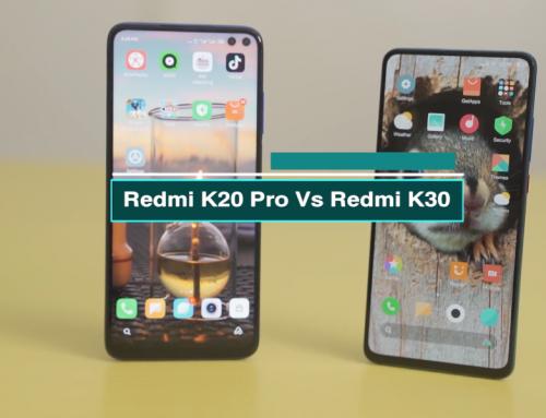 Redmi K20 Pro နဲ့ Redmi K30 တိုကို နှိုင်းယှဥ်ကြည့်ခြင်း (ဗီဒီယို)