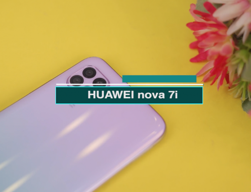 HUAWEI nova 7i ရဲ့ First Impression ဗီဒီယို