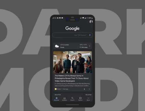 Google App မှာ တရားဝင် Dark Mode သုံးနိုင်ပြီ