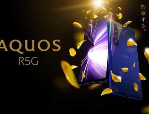 8K ဗီဒီယိုရိုက်ကူးနိုင်မယ့် AQUOS R5G စမတ်ဖုန်းသစ်ကို Sharp မိတ်ဆက်