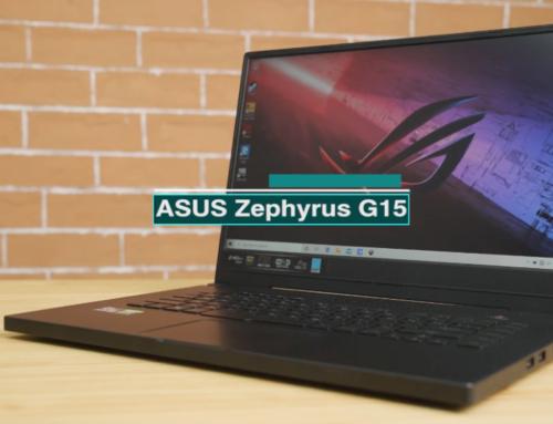 ASUS ROG Zephyrus G15 ရဲ့ Review ဗီဒီယို