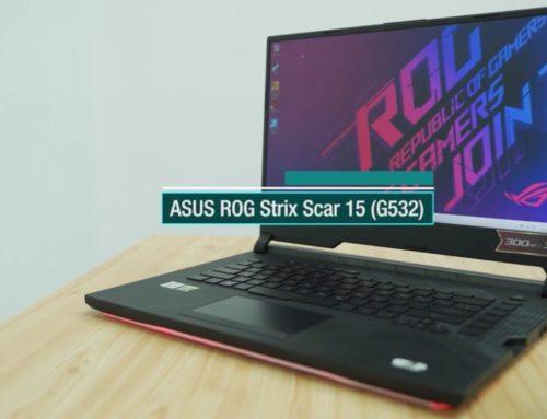 ASUS ROG Strix SCAR 15 ရဲ့ Review ဗီဒီယို
