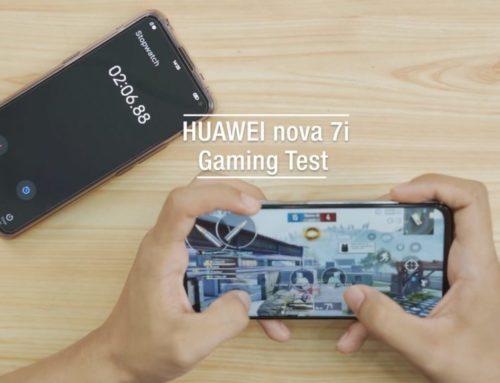 HUAWEI nova 7i ရဲ့ PUBG Gaming Test ဗီဒီယို