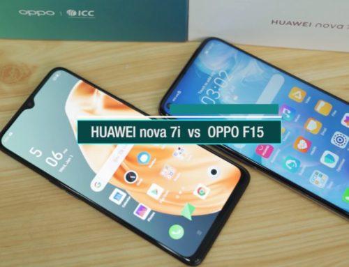 HUAWEI nova 7i နဲ့ OPPO F15 တိုရဲ့ Comparison ဗီဒီယို