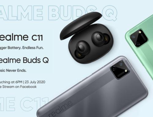 သုံးစွဲသူ ၁၃သန်းကျော်ရှိနေပြီဖြစ်သည့် C series ထုတ်ကုန်သစ် realme C11 နှင့် မျိုးဆက်သစ် TWS ဖြစ်သည့် realme Buds Q တို့ကို တရားဝင်မိတ်ဆက်ပေးသွားမည်