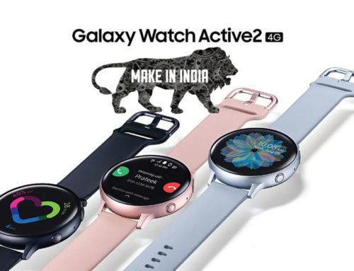 Made in India Galaxy Watch Active 2 4G ကို ဖြန့်ချိလိုက်ပြီဖြစ်တဲ့ Samsung