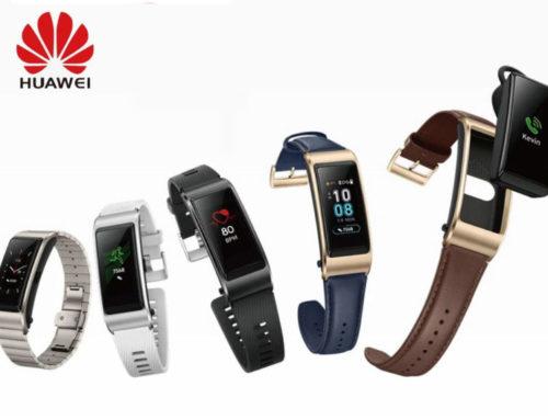 Huawei Smart Band သစ်ရဲ့  ပုံသဏ္ဍာန်များ ထွက်ပေါ်လာ