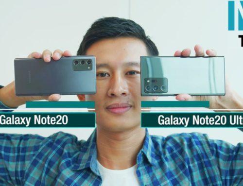 ခဏတာ စမ်းသပ်အသုံးပြုခွင့်ရခဲ့တဲ့ Galaxy Note 20 Series ရဲ့ Hands-on ဗီဒီယို