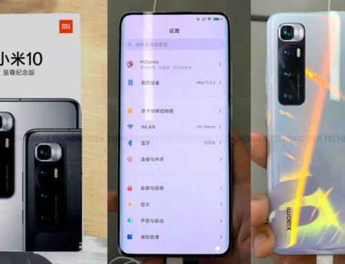 Xiaomi Mi 10 Ultra ဟာ ကမ္ဘာ့ပထမဆုံး Under-screen ကင်မရာ ဖုန်း ဖြစ်မည်