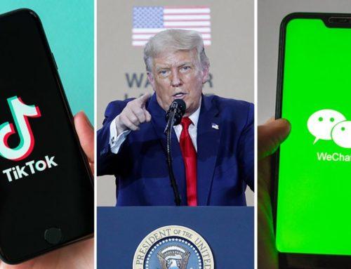 WeChat နဲ့ TikTok တို့ကို အမေရိကန်မှာ မပိတ်ပင်ခင် Download အရမ်း မြင့်တက်သွားခဲ့
