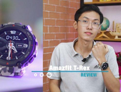 အကြမ်းလည်းခံ ဈေးလည်းတန်တဲ့ Amazfit T-Rex | Smartwatch Review