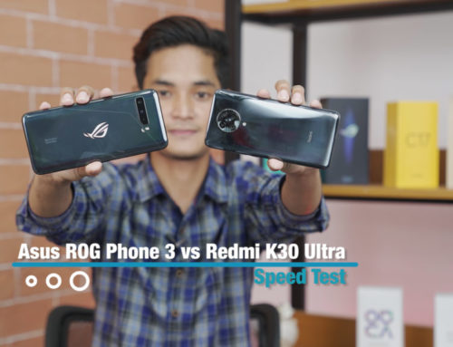 Redmi K30 Ultra နဲ့ ASUS ROG Phone 3 တိုရဲ့ Speed Test ဗီဒီယို