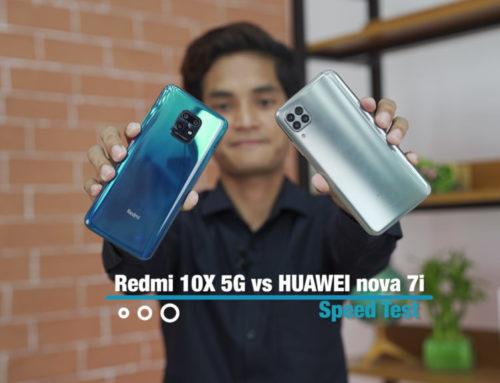 Redmi 10X 5G နဲ့ HUAWEI nova 7i တိုရဲ့ Speed Test ဗီဒီယို