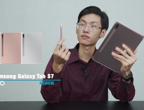 Galaxy Tab S7 က သုံးလိုကောင်းတဲ့ Tablet တစ်လုံးလား? – Review သုံးသပ်ချက်