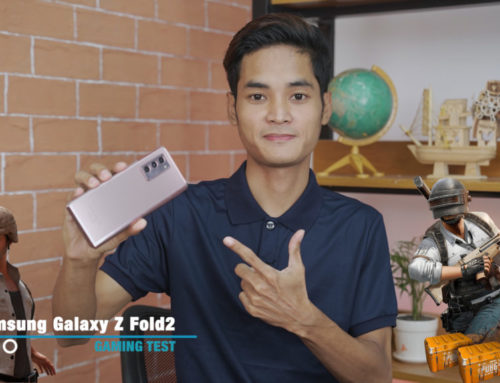 Samsung Galaxy Z Fold2 ရဲ့ PUBG Gaming Test ဗီဒီယို