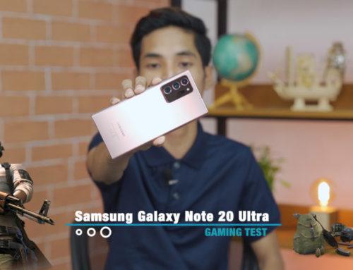 Samsung Galaxy Note20 Ultra ရဲ့ PUBG Gaming Test ဗီဒီယို