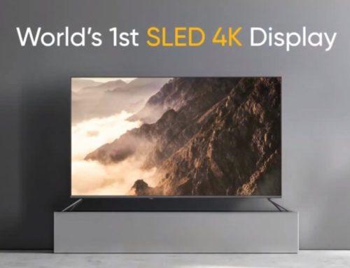 realme က Smart TV SLED 4K 55″ နဲ့ 100W Sound Bar ကို ကြေညာ