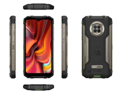 Night Vision ကင်မရာပါတဲ့ Doogee S96 Pro အကြမ်းခံ ဖုန်းကို ကြေညာ