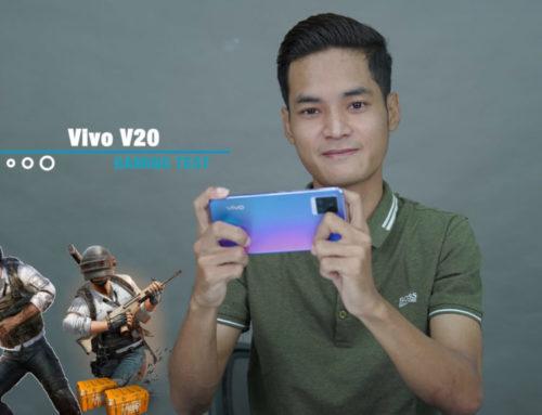vivo V20 ရဲ့ PUBG Gaming Test ဗီဒီယို