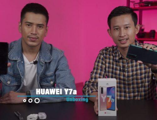 ရုပ်ရှင်သရုပ်ဆောင် အောင်ရဲလင်းနဲ့အတူ HUAWEI Y7a ကို Unboxing လုပ်မယ်