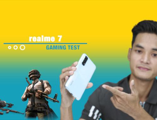realme 7 ရဲ့ PUBG Gaming Test ဗီဒီယို