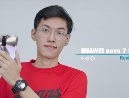 အရင် Nova series တွေနဲ့မတူတော့ဘဲ ကွဲထွက်လာတဲ့ Huawei Nova 7 5G (Review)