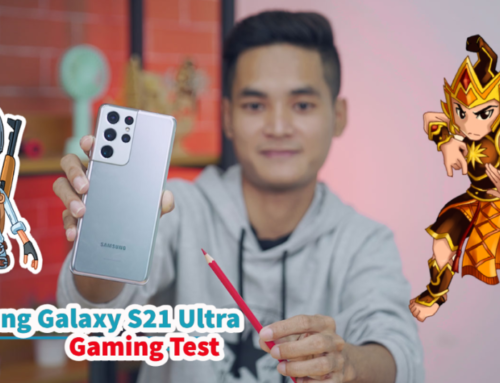 Samsung Galaxy S21 Ultra ရဲ့ PUBG နဲ့ Mobile Legends Gaming Test ဗီဒီယို