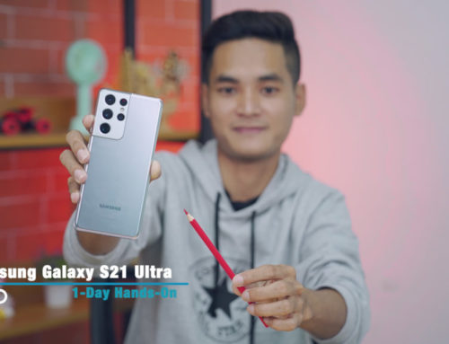 Samsung Galaxy S21 Ultra ရဲ့ Impression ဗီဒီယို