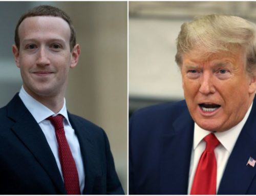 Facebook က ထရမ့်ကို ၂ နှစ် ပိတ်ပင်