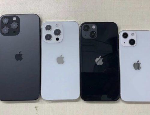 iPhone 13 နမူနာ မော်ဒယ် ၄ လုံးရဲ့ ဓါတ်ပုံတွေ ထွက်ပေါ်လာ